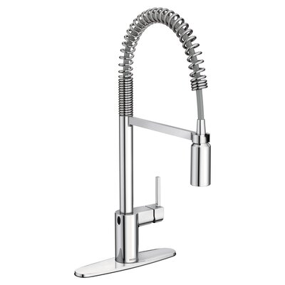 Align Pull Down Touchless Single Handle Kitchen Faucet Finish: Chrome