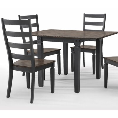 Marchan Drop Leaf Dining Table Base Color: Black