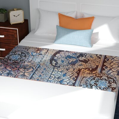 Victoria Krupp Italian Tiles Digital Bed Runner