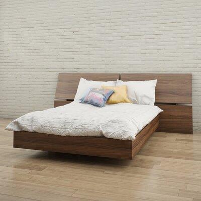 Kucera Platform Bed Size: Full, Color: Walnut