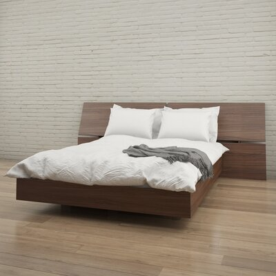 Kucera Platform Bed Size: Queen, Color: Walnut