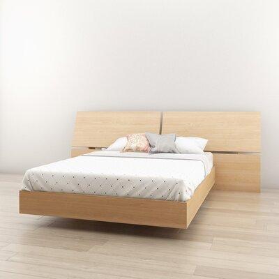 Kucera Platform Bed Size: Full, Color: Natural Maple