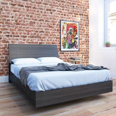 Mullet Platform Bed Size: Full, Color: Ebony