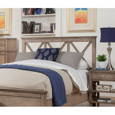 Potter Headboard Size: Full, Color: White
