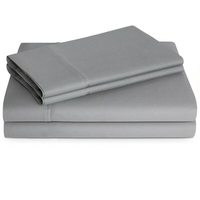 600 Thread Count Sheet Set Color: Stone, Size: Twin