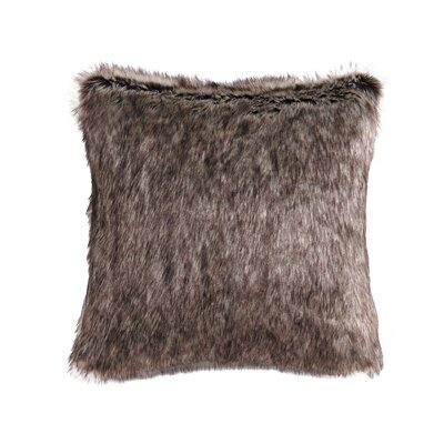 Rhythm Faux Fur Throw Pillow