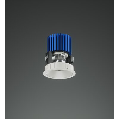 3 Round LED Recessed Housing Track Head Bulb: ELV/Triac