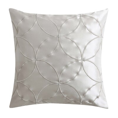 Tribeca Matte Satin Throw Pillow
