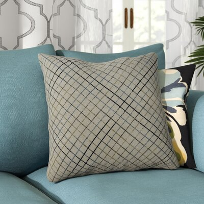 Riverhead 100% Cotton Throw Pillow Color: Ocean
