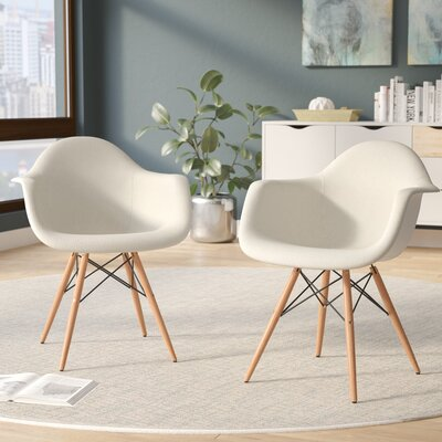 Bullsbrook Eiffel Accent Armchair Upholstery: Beige