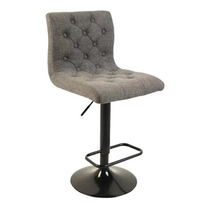 Wagner Adjustable Height Swivel Bar Stool