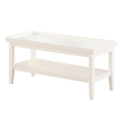 Wallenstein Coffee Table Color: White