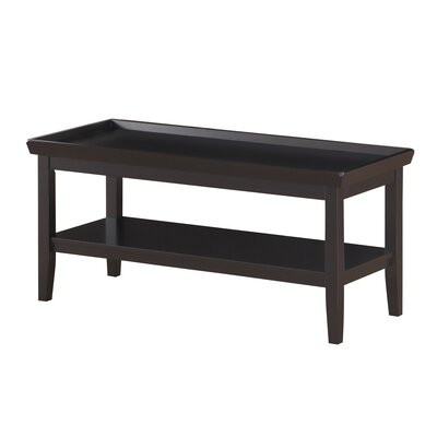 Wallenstein Coffee Table Color: Black