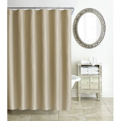 Tory Shower Curtain Color: Gold