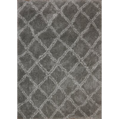 Tryon Gray Area Rug Rug Size: Rectangle 75 x 106