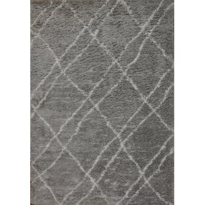 Tryon Gray Area Rug Rug Size: Rectangle 7'5