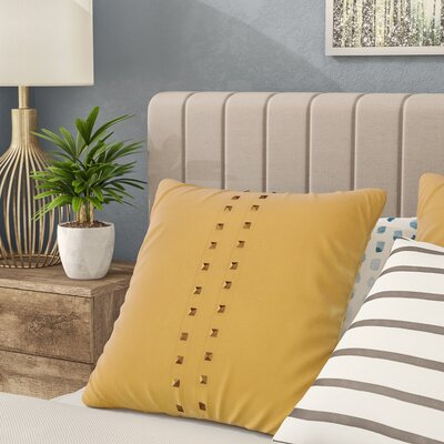 Bosworth Jessa Throw Pillow Color: Curry
