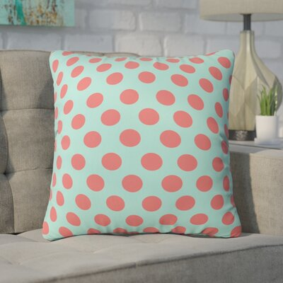 Mouton Adorable Dots Outdoor Throw Pillow Size: 16 H x 16 W x 4 D