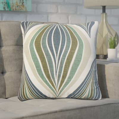 Wimberly Geometric Cotton Throw Pillow