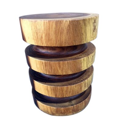 Clintonville Natural Ring End Table