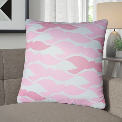 Walpole 100% Cotton Pillow Cover Color: Bright Pink