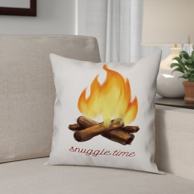Snuggle Time Throw Pillow Type: Throw Pillow