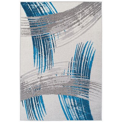Melendy Wool Blue Indoor/Outdoor Area Rug Rug Size: Rectangle 2 x 3