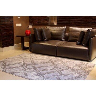 Melgoza Wool Gray Indoor/Outdoor Area Rug Rug Size: Rectangle 5 x 8