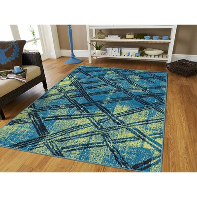 Melgar Wool Green Indoor/Outdoor Area Rug Rug Size: Rectangle 5 x 8
