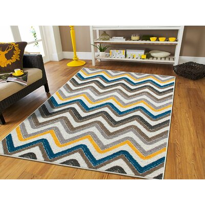 Truesdale Wool Cream Indoor/Outdoor Area Rug Rug Size: Rectangle 2 x 3