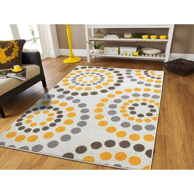 Truett Wool Cream Indoor/Outdoor Area Rug Rug Size: Rectangle 5 x 8