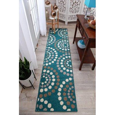 Truex Wool Blue Indoor/Outdoor Area Rug Rug Size: Runner 2 x 8
