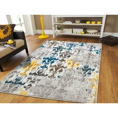 Houck Wool Beige Indoor/Outdoor Area Rug Rug Size: Rectangle 5 x 8