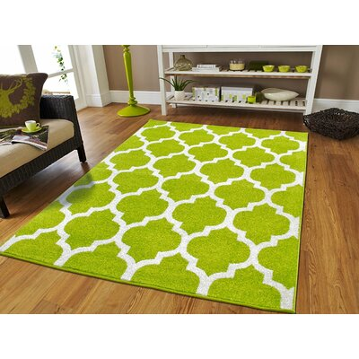 Daley Wool Green Indoor/Outdoor Area Rug Rug Size: Rectangle 5 x 8