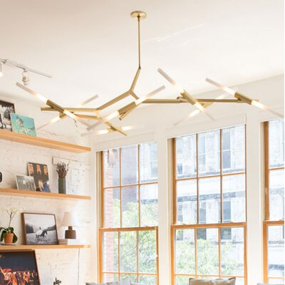Knepp LED Sputnik Chandelier