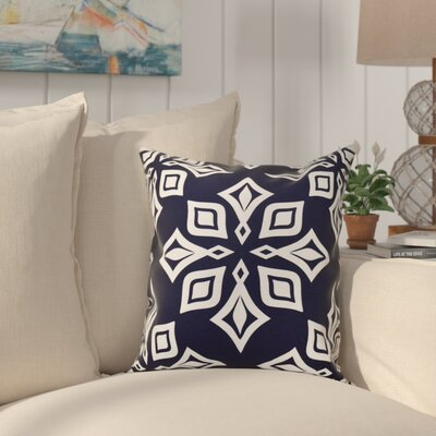 Cedarville Star Geometric Print Throw Pillow Size: 16 H x 16 W, Color: Blue