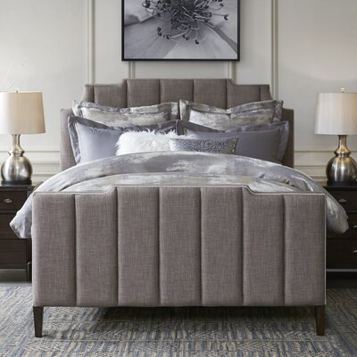 Wesley Upholstered Panel Bed Size: Queen