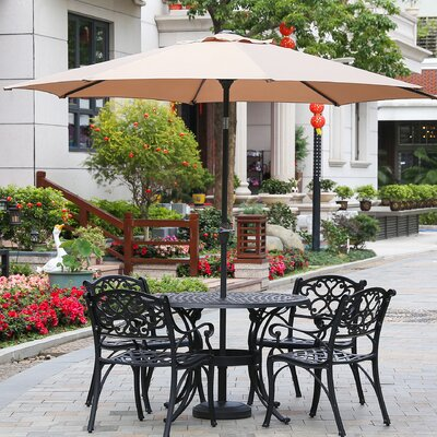 Hattaway 9' Market Umbrella C143BE05AAB243EE97602C3C88910433