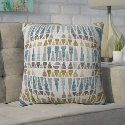 Novotny Throw Pillow Size: 16.5 x 16.5