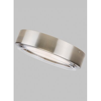 Gorman LED Flush Mount Fixture Finish: Satin Nickel