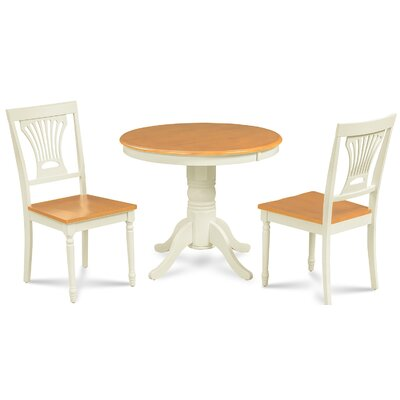 Dahlke 3 Piece Dining Set