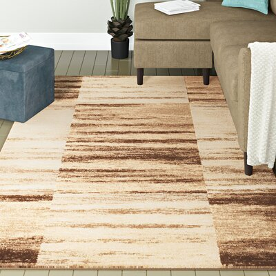 Anabella Taupe Area Rug Rug Size: 5 x 7