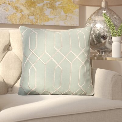 Kaivhon Linen Throw Pillow Size: 22 H x 22 W x 4 D, Color: Moss