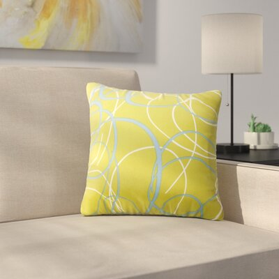Nellie Outdoor Throw Pillow Size: Small