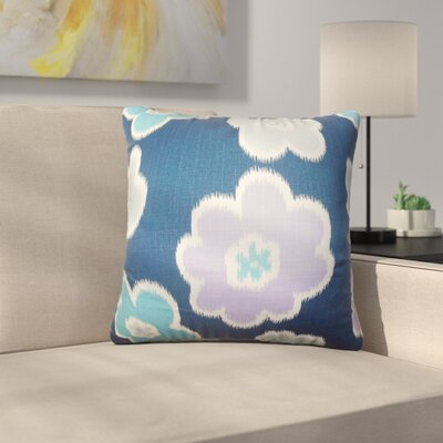 Bunbury Floral Cotton Throw Pillow Color: Berries, Size: 20 x 20