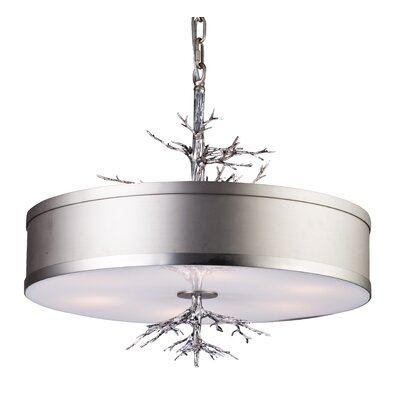 Pires 6-Light Drum Pendant