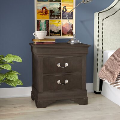 Allenville 2 Drawer Nightstand