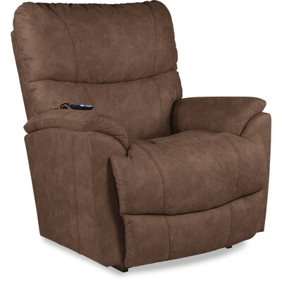 Trouper Power Rocker Recliner Upholstery: Brown
