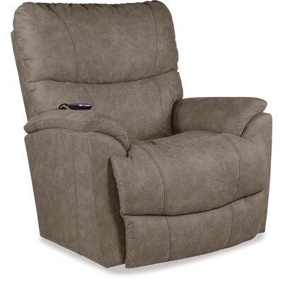 Trouper Power Rocker Recliner Upholstery: Dark Gray