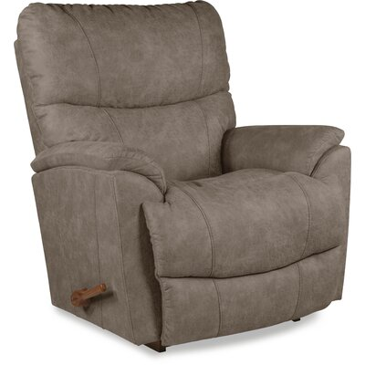 Trouper Rocker Recliner Upholstery: Gray